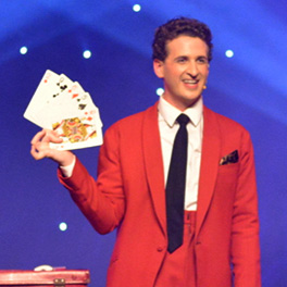 Danny Lee Grew with magic playing cards