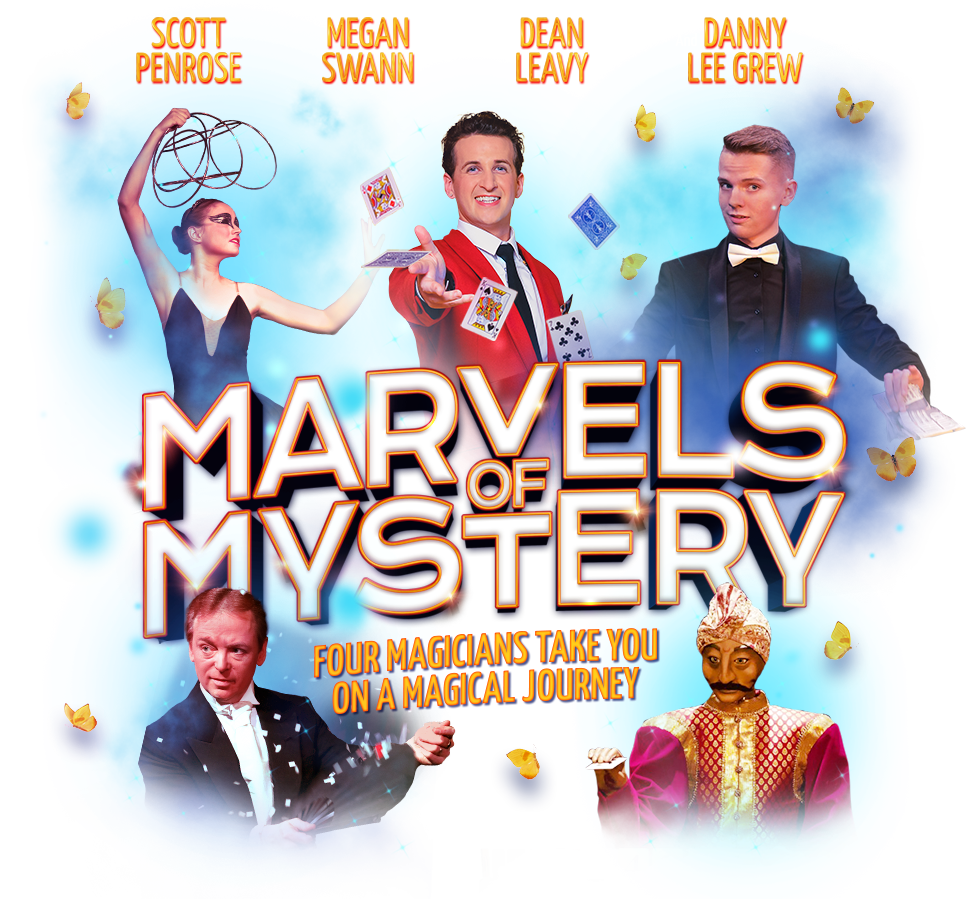Marvels of Mystery magic show title